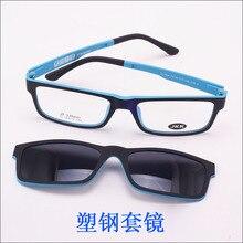 Ultra-light Glasses Magnet Clip Sunglasses Myopia Glasses Polarized Sunglasses Functional 3D Glasses Ultem Uv 400 Glasses jkk70