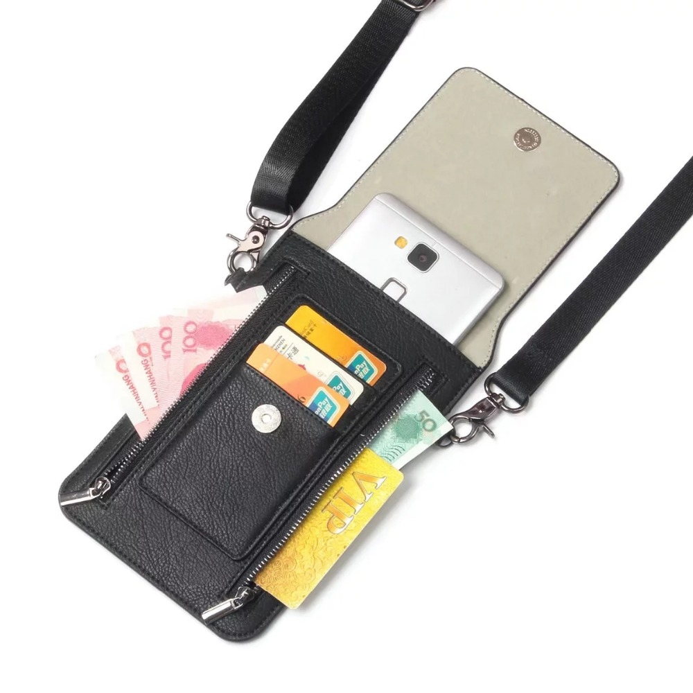 FULAIKATE Litchi Universal τσάντα ώμου για iPhone6s 7 - Ανταλλακτικά και αξεσουάρ κινητών τηλεφώνων - Φωτογραφία 4