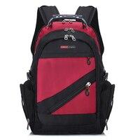 Design Men's Travel Bag Man Swiss Backpack Polyester Bag Waterproof Anti Theft Laptop s Men
