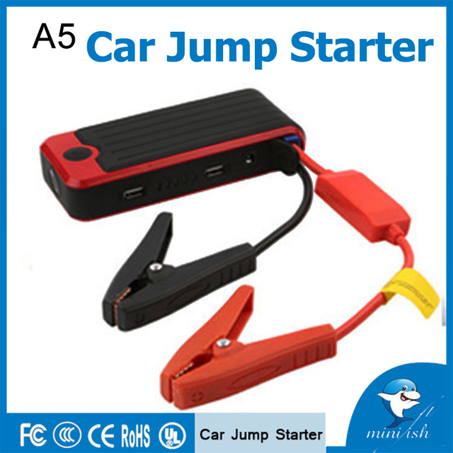 High Quality 12V Mini Portable Jump Starter Multi-function Emergency Car Start Power Bank Charger For Mobile Phone