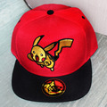 2016 new pokemon Demon pocket cap Anime Cospaly Hat Pokemon ASH KETCHUM Visor Cap team valor Baseball Hat