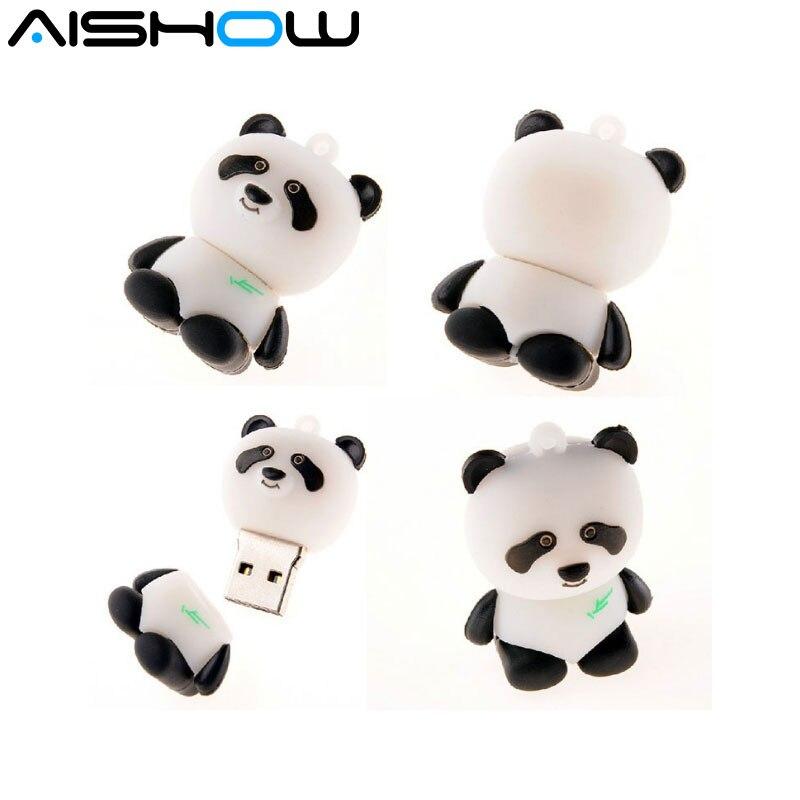 %100 Hot selling hot sale Kung Fu Panda USB 2.0 flash memory stick pen drive 4GB 8GB16GB 32GB 64GB free shipping