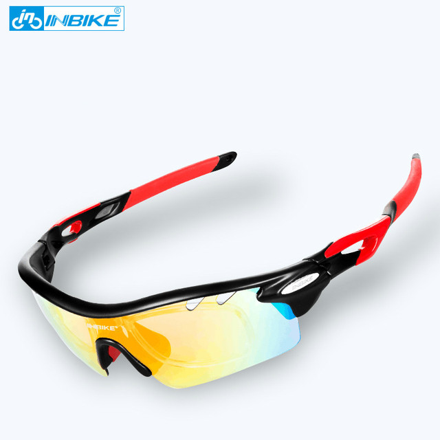 3b13a90808 Inbike Cycling Glasses Sunglasses Men Women Polarized Bike Bicycle Eyewear  Goggles oculos gafas ciclismo pesca riding equipment