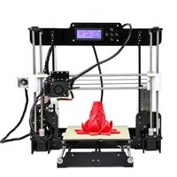 Anet Auto Level Normal A8 A6 3D Printer 0 4mm Nozzle Reprap Prusa I3 Aluminium Hotbed