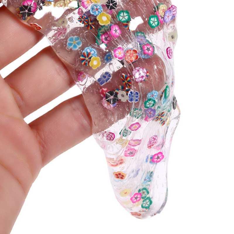 Najlepsza jakość owoców kryształ szlam gliny Fidget plastelina błoto zabawki prezent dla dzieci plastelina