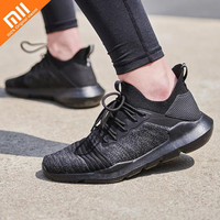 Xiaomi Mijia Uleemark Casual Shoes Men's Women's Lightweight Sports Shoes Eva Cushioning Sole and Fabric Lac up Sneaker