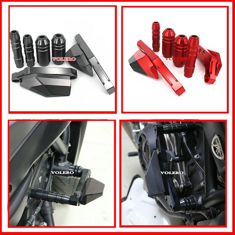 Алюминиевый сплав с ЧПУ мотоцикл анти-столкновение протектор высокое качество подходит для YAMAHA МТ-07 mt07 2013 2014 2015