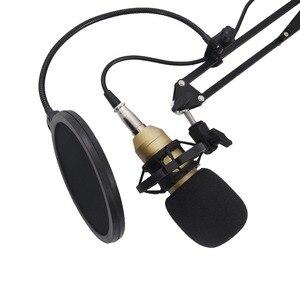 Image 2 - Profesyonel BM800 Mikrofon kondenser ses kayıt için montaj ile kayıt KTV Karaoke Mikrofon Mikrofon standı bilgisayar için