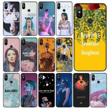 Babaite Halsey Hopeless Fountain Kingdom Black Soft Shell Phone Cover for Xiaomi Mi Note 3 6 8 8SE MIX 2 2S Redmi 5 Plus Note 5(China)