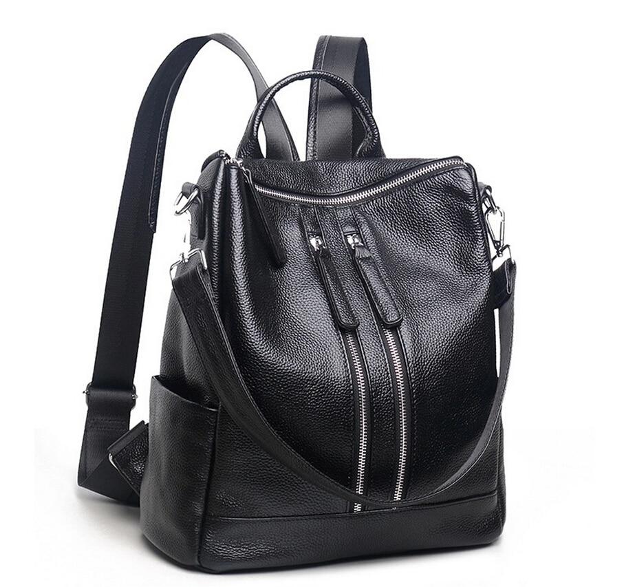 2016 new fashion backpack Japan and South Korea backpack ladies full waterproof young women Korean shoulder leather handbags