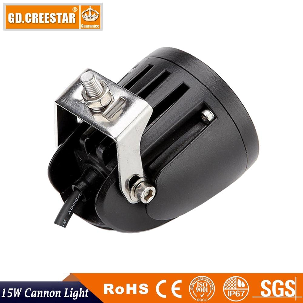 15W 3inch LED աշխատանքային լուսավորություն - Ավտոմեքենայի լույսեր - Լուսանկար 6