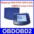 DHL frete Grátis Versão OBD Software Completa Digiprog3 Odômetro Programador Digiprog III Quilometragem Correção Unlock Versão