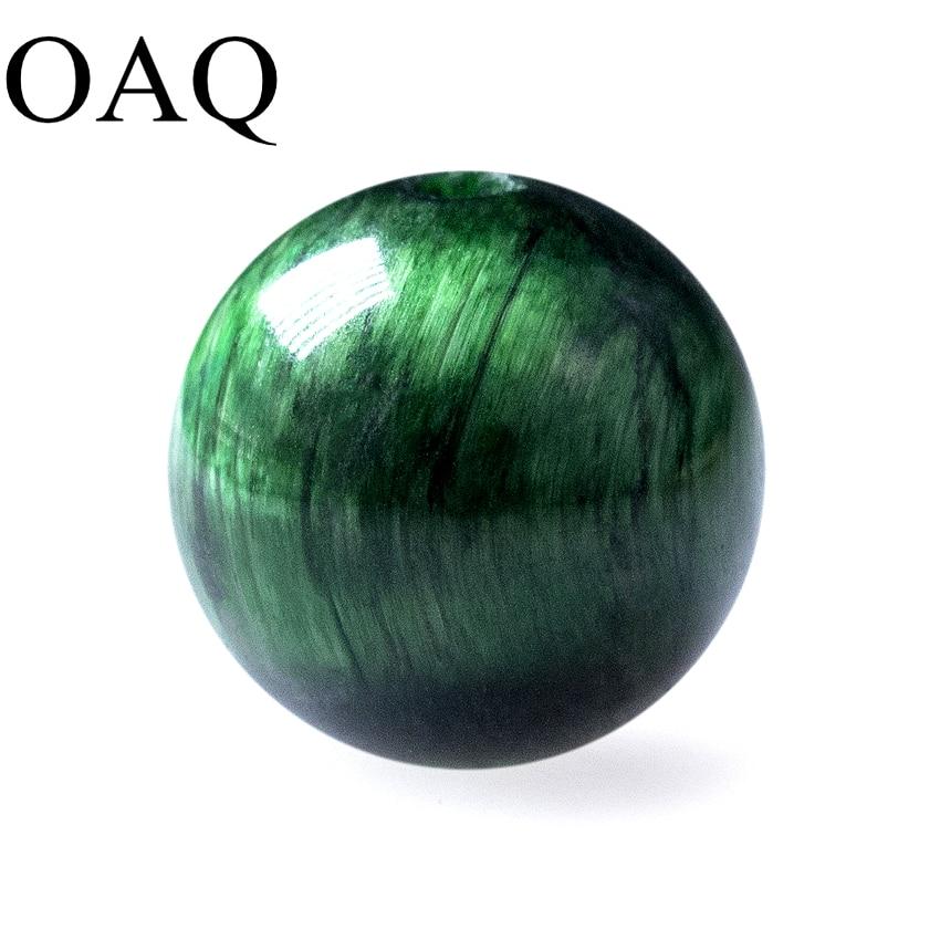 Natural Stone Green Tiger Eye Beads Round Spacer Loose