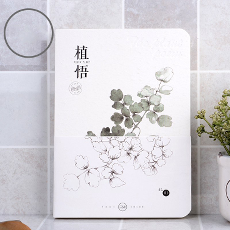 New Cute Sketchbook Diary Drawing School Notebook Paper 80 Sheets Note Book Creative Trends Office Shcool Supplies Gift