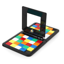 Color Battle Rubik's Cube Parent-child Interactive Sports Rubik's Cube Board Game Toy Puzzle(China)