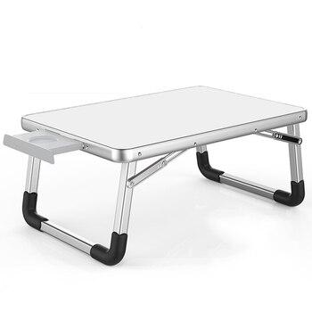 2018 מחשב נייד שולחן 60*40cm ו 70*50 מתכוונן מתקפל מחשב נייד נייד שולחן שולחן Stand נייד מיטת מגש