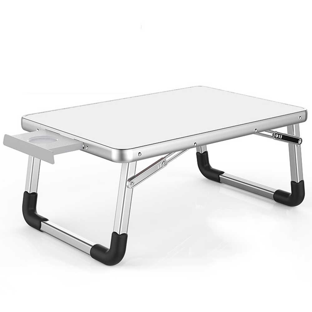 новинка 2018 года столик на кровать складной столик столик для ноутбука раскладной стол складной металлический столик трансформер стол для ноутбука