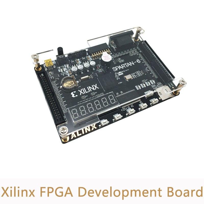 Carte de développement Xilinx FPGA carte de développement spartiate FPGA Xilinx spartan6 XC6SLX9 avec 256 mo SDRAM EEPROM FLASH carte SD caméra VGA XL007