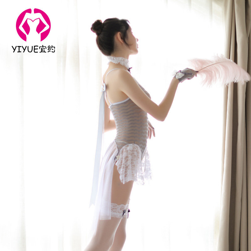 Fairy Princess Wind Sling Siamese Sexy Ladies Pajamas Sexy Lingerie Temptation Siamese Lace Lingerie Leotard Tights One Piece in Teddies Bodysuits from Novelty Special Use