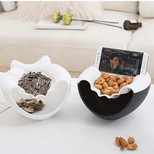 our cherish Bowl Candy Snacks Fruit Storage Box Plate Dish