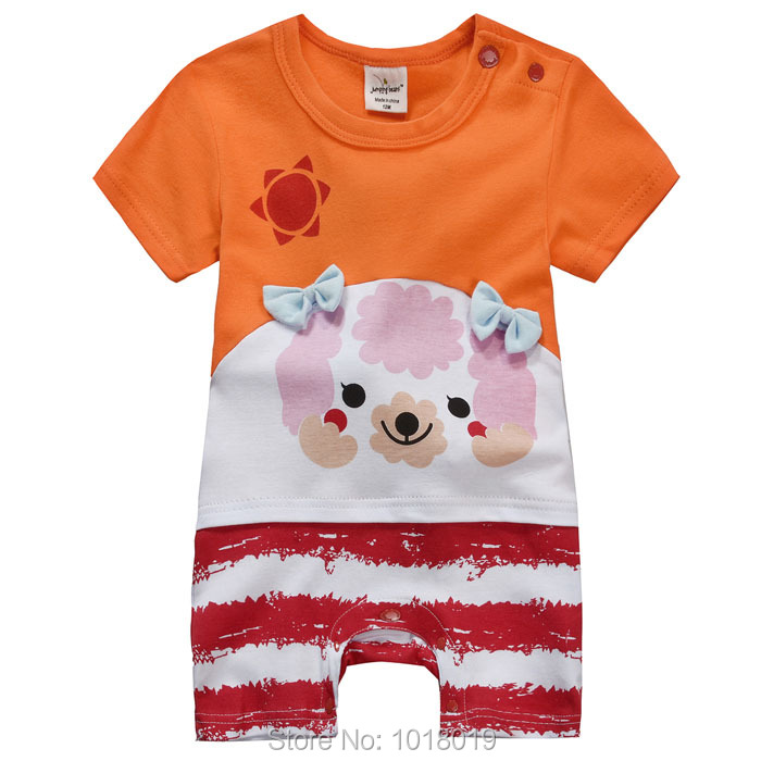 Brand New Quality 100% Cotton Ropa Bebe Newborn Baby Girl Clothing Clothes Romper Creepers Jumpsuits Baby Girls Rompers Summer