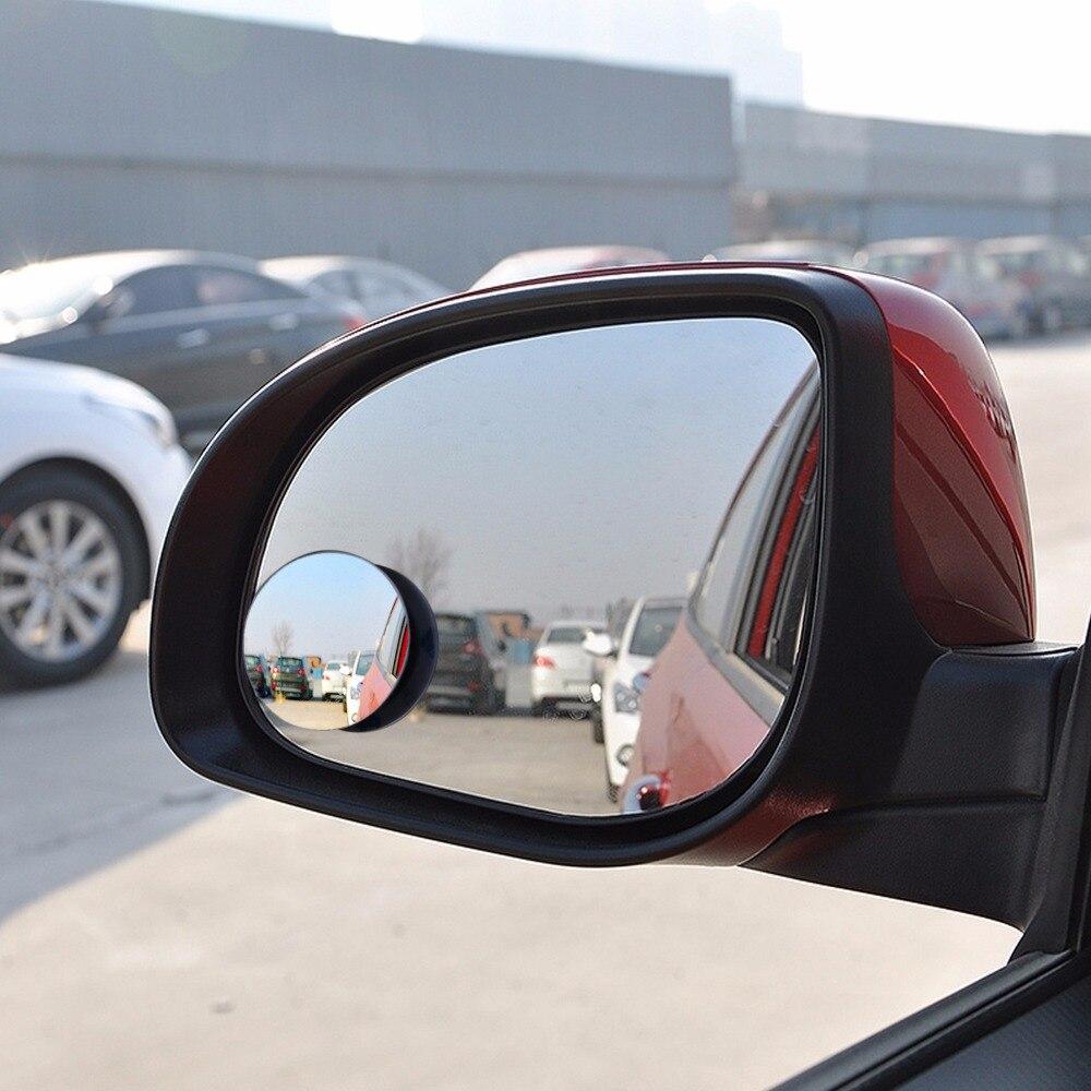 Auto 360 Wide Angle Round Convex Mirror Car Vehicle Side Blindspot Blind Spot Mirror Wide RearView Mirror Small Round Mirror  Mitsubishi Pajero