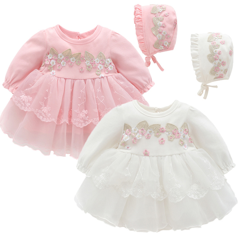 0fd4f4e89739c newborn baby girl dresses clothes summer with flower 0 3 6 month ...