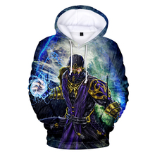 LUCKYFRIDAY Hoodies Kawaii 3D Mortal Kombat 11 Print Sweatshirt Long Sleeve Women Clothes Hot Sale Casual Kpop Plus Size