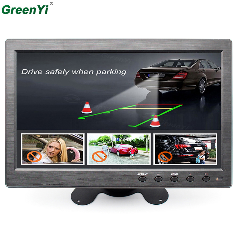 TFT LCD 1024*600 1080P10.1 Inch Car FM Mp4 MP5 Video Player Auto Parking Monitor Support Rear Camera SD USB Flash