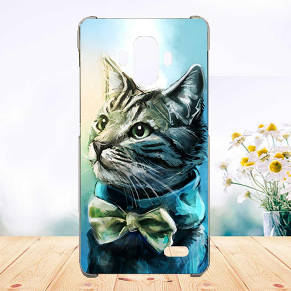 Miękkie etui z TPU na telefon dla Vertex Impress tygrys przypadki silikonowe malowane wilk różany kot eiffla Fundas Sheer do Vertex Impress tygrys