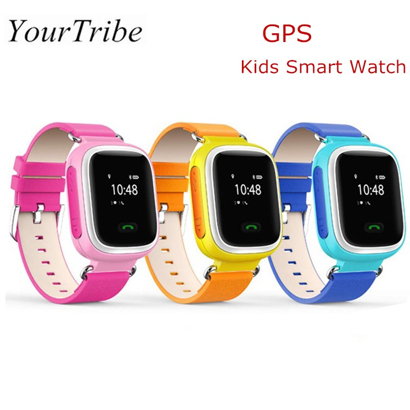 YourTribe Q60 GPS Smart Watch SOS Intellegent Emergency Kids Smart Locator Watch Calling Baby Safe Anti Lost Monitor