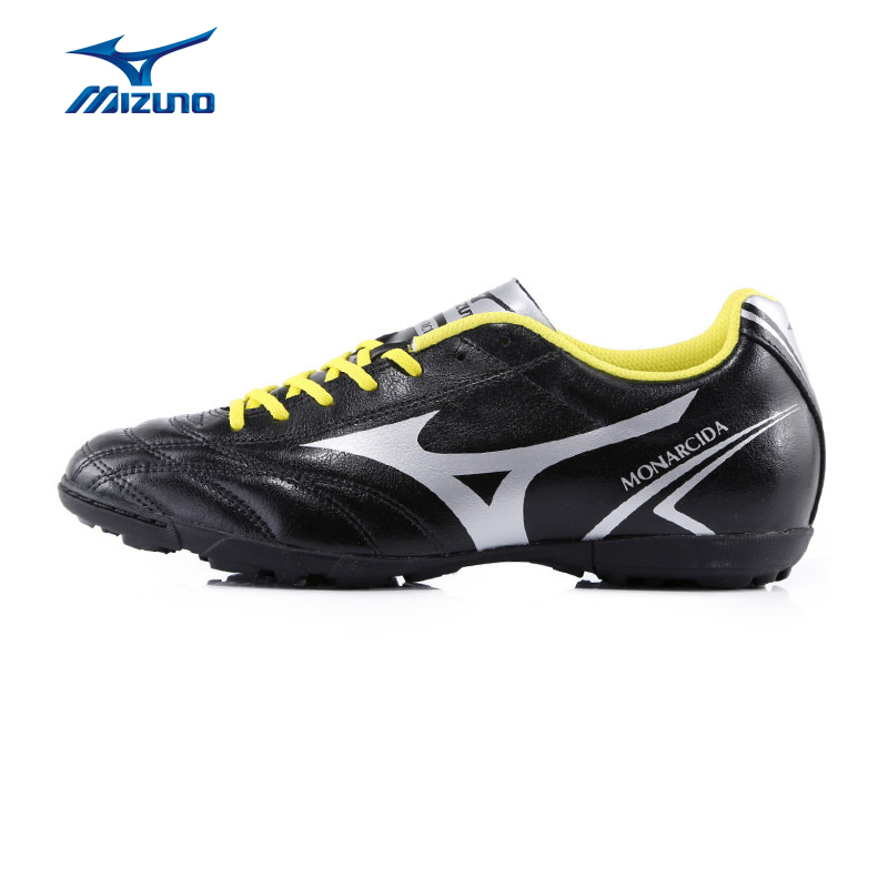 MIZUNO Men's Soccer Shoes MONARCIDA FS AS Sneakers TF Hard Court Footwear Cushioning Sports Shoes P1GD162404 YXZ024 mizuno men s sports beathable cushioning soccer shoes monarcida fs as light sport shoes sneakers p1gd152301 yxz003