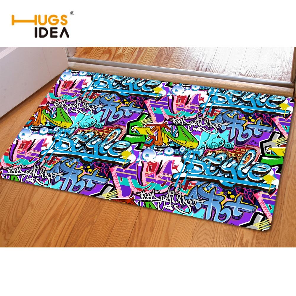 Buy Hugsidea 3d Graffiti Prints Floor