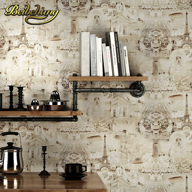 beibehang papel de parede Mediterranean mural wallpaper background personalized mural bedroom sofa background restaurant bar free shipping personalized fashion figure puzzle 3d wallpaper salon bedroom wallpaper background bar ktv mural