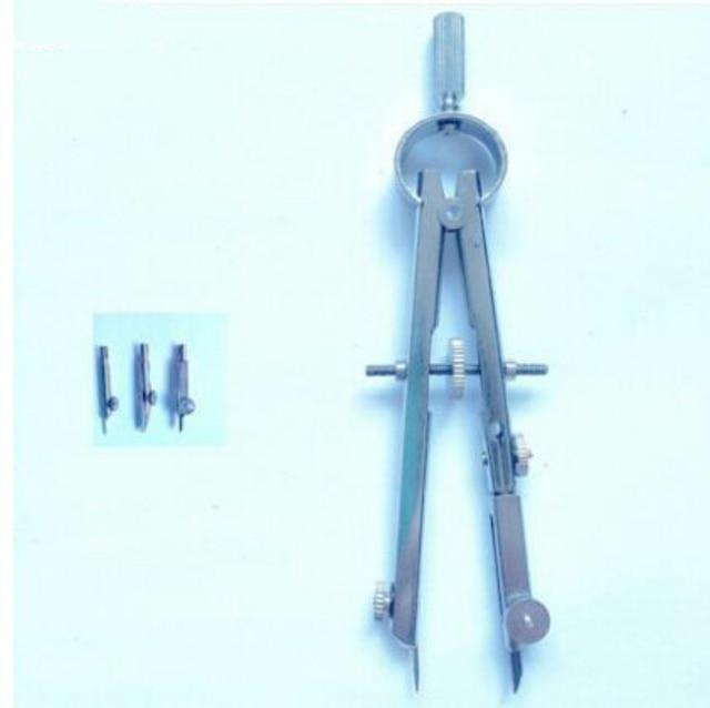 Фото профессиональный набор компаса для рисования техническая точность