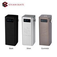 300W Steam Crave Titan PWM VV Box MOD Fit with Aromamizer Titan RDTA 25ms Fast Firing Speed No 18650 Battery E-cigarette Mod