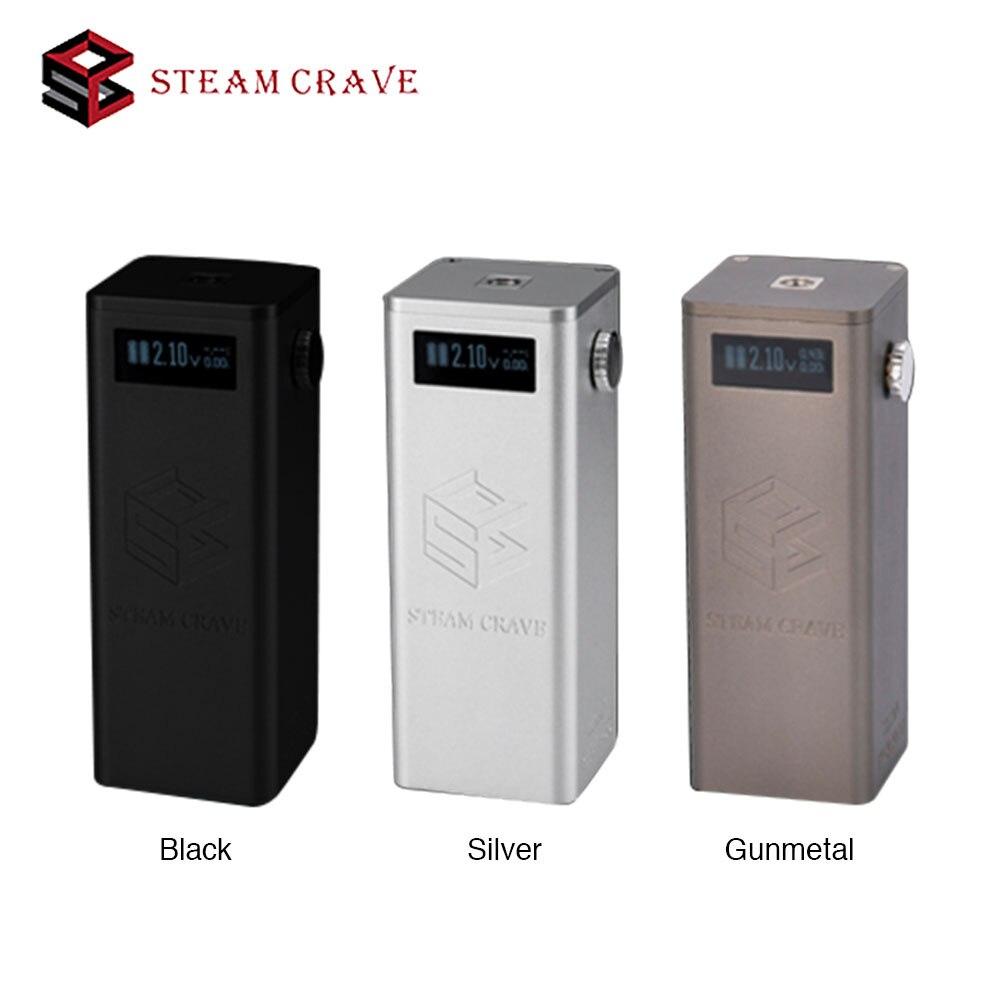 300W Steam Crave Titan PWM VV Box MOD Fit with Aromamizer Titan RDTA 25ms Fast Firing Speed No 18650 Battery E-cigarette Mod