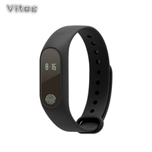 Smart Bracelet Brand M2 Heart Rate Monitor Pedometer band Waterproof Bluetooth Wristband For iOS Android