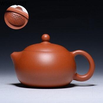 Yixing Zisha Teapot 200ml Famous Handmade Ballhole Xi Shi Pot Smooth water Home Kung Fu Tea Set WSHYUFEI