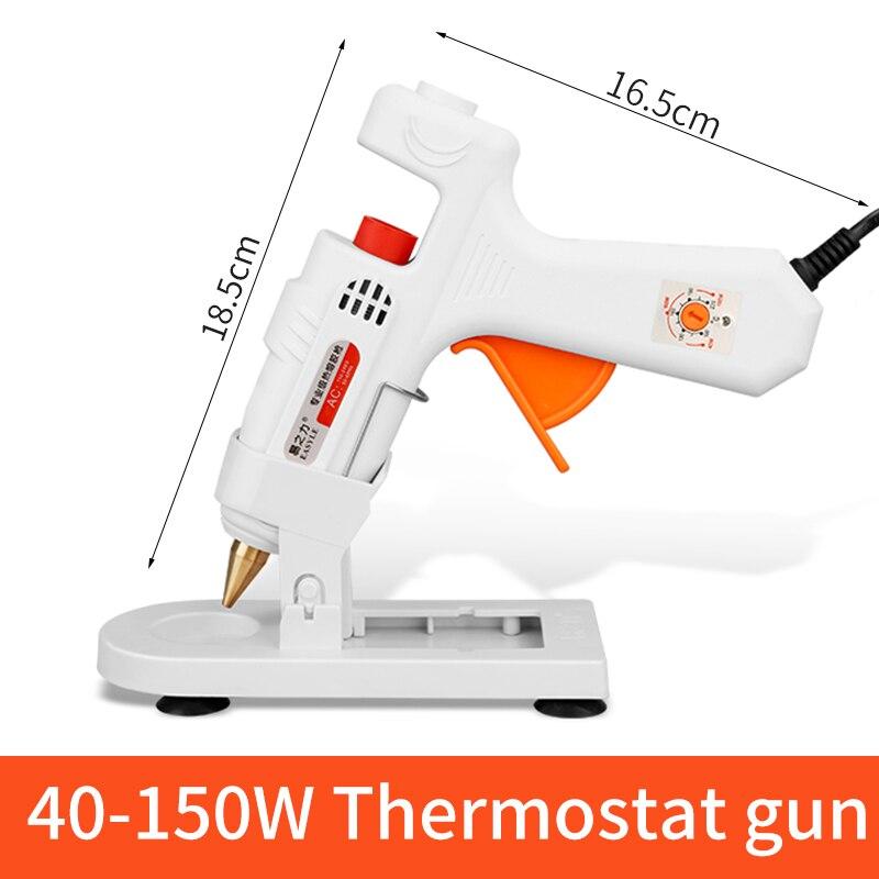 30 Вт/40 Вт/80 Вт/100 Вт Профессиональный высокотемпературный термоклеевой пистолет ремонтный термопистолет пневматический DIY инструменты Горячий клеевой пистолет - Цвет: white