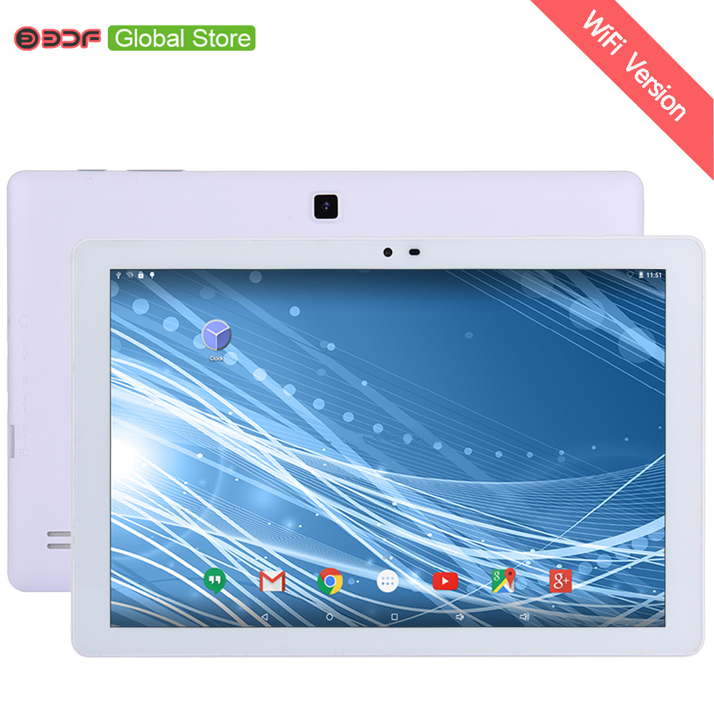 10.1 Inch 1GB RAM 32GB ROM Tablet PC Android 5.0 Google Quad Core WIFI  IPS 1280*800 LCD 6000Mah Battery 2MP+5M Cameras