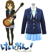 Envío Libre K-ON! Sakuragaoka Chica's High School Marinero Uniforme de Cosplay del Anime