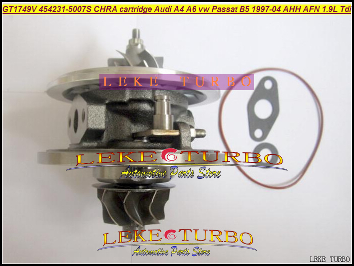 Turbo cartridge chra core GT1749V 454231 454231-5005S 454231-1 454231-3 454231-4 454231-5 028145702HV 1.9TDI 110HP Turbocharger gt1749v 454231 vw turbocharger cartridge core for volkswagen passat b5 81kw 1 9 tdi turbo chra 454231 0005 passat turbo kit