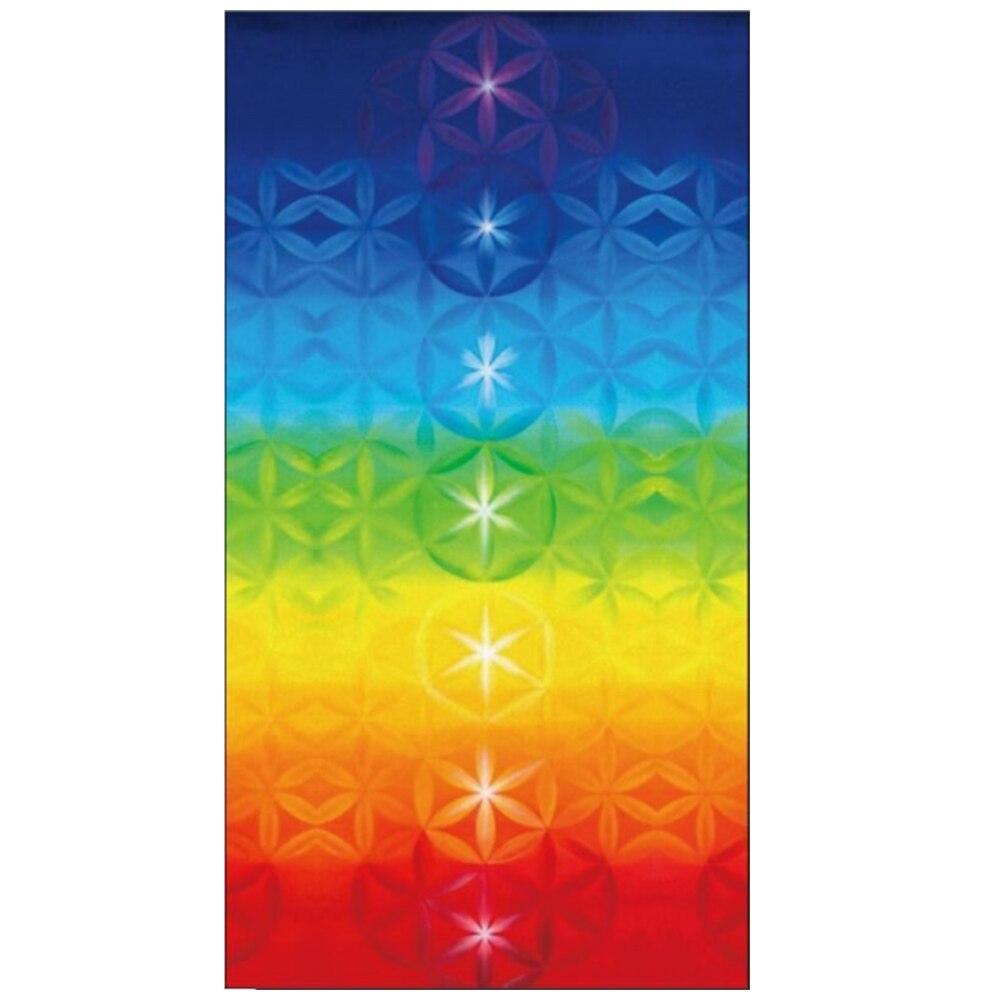 Радужная полиэфирная скатерть из фибры пляжный коврик красивый подвесной Коврик для йоги экономичный декоративный Гобелен Мандала одеяло