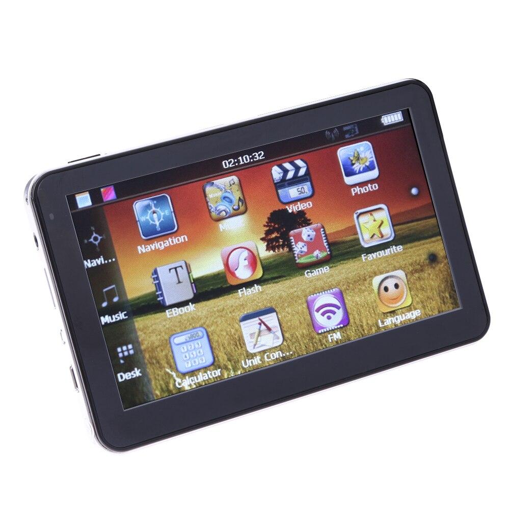 5 inch Car GPS Navigation HD800*480 256Ms