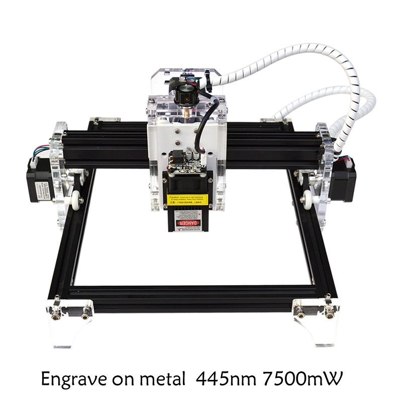 цена DIY laser metal engraving machine automatic multifunctional marking cutting machine Mini plotter