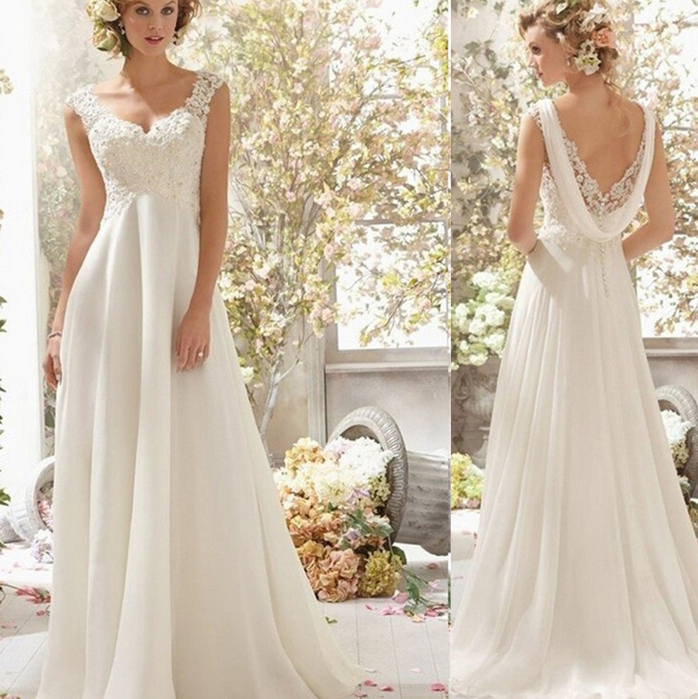 Popular size 26 dresses buy cheap size 26 dresses lots from china 9054 high quality knee length white ivory wedding dresses for brides plus size maxi size 2 ombrellifo Choice Image
