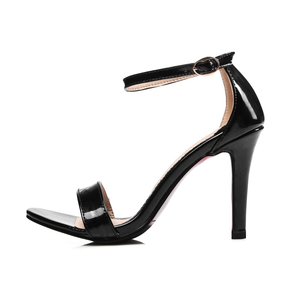 Womens sandals in size 12 - Big Size 11 12 13 14 Thin Heels Buckle Sexy Solid Casual Women S Sandals Women S Shoes