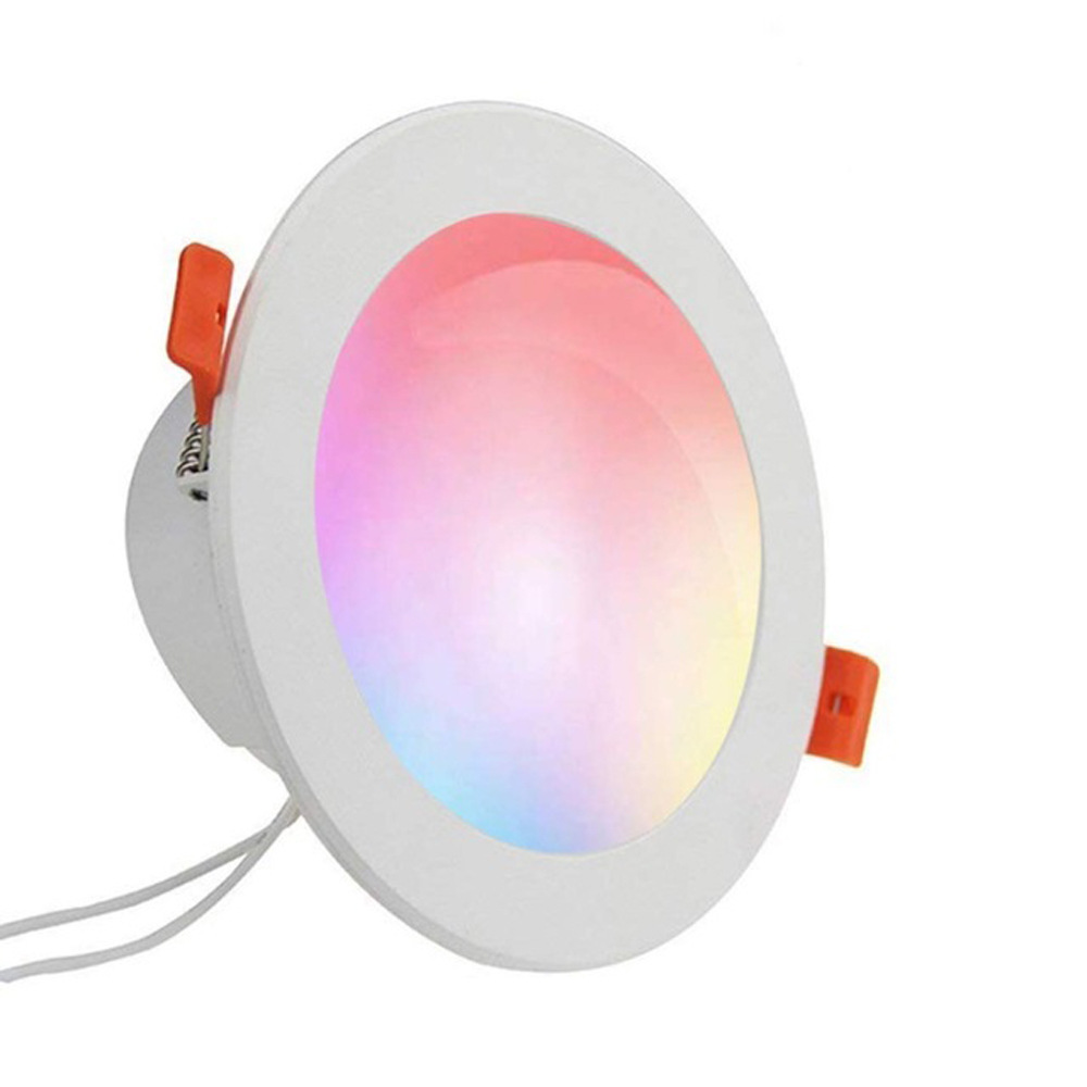 Led Lampen Voor Spotjes Led Downlight Wifi Intelligent Color Temperature Dimmable Spot Led Remote Control Smart For Home Lighting Mini Ceiling Lights