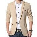 Los hombres Chaqueta de Los Hombres del Juego de Negocio Formal de La Manera Más El Tamaño M-5XL Diseño Slim Fit Suit Blazer Marca Masculina Ocasional Del Juego de vestido chaqueta